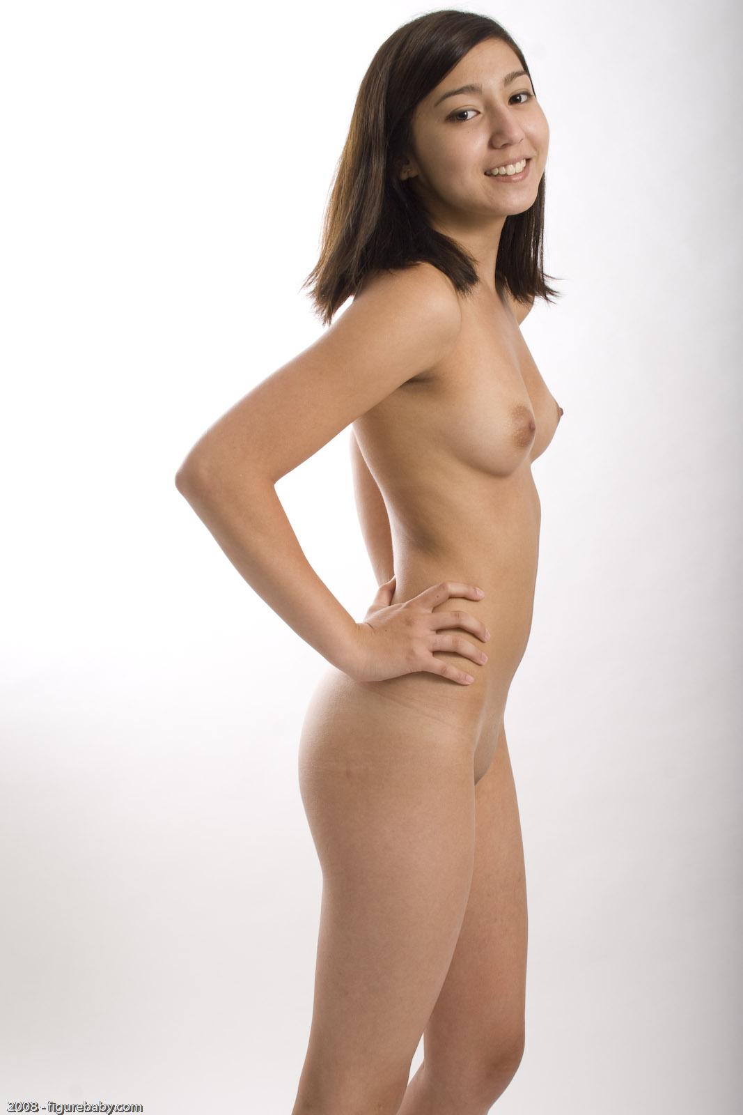 Douche adolescente nue